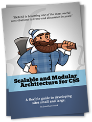 Scalable and Modular Architecture for CSS book cover