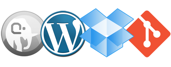 Working together with MAMP WordPress Dropbox Git