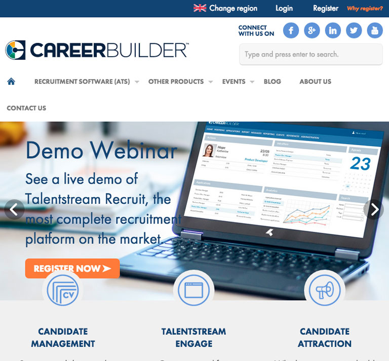 recruitment responsive webdesign
