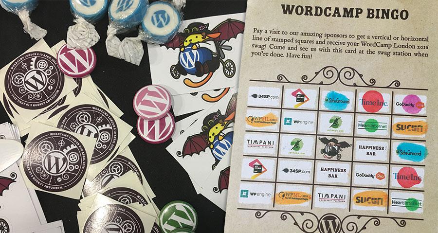 WordCamp London 2016 header