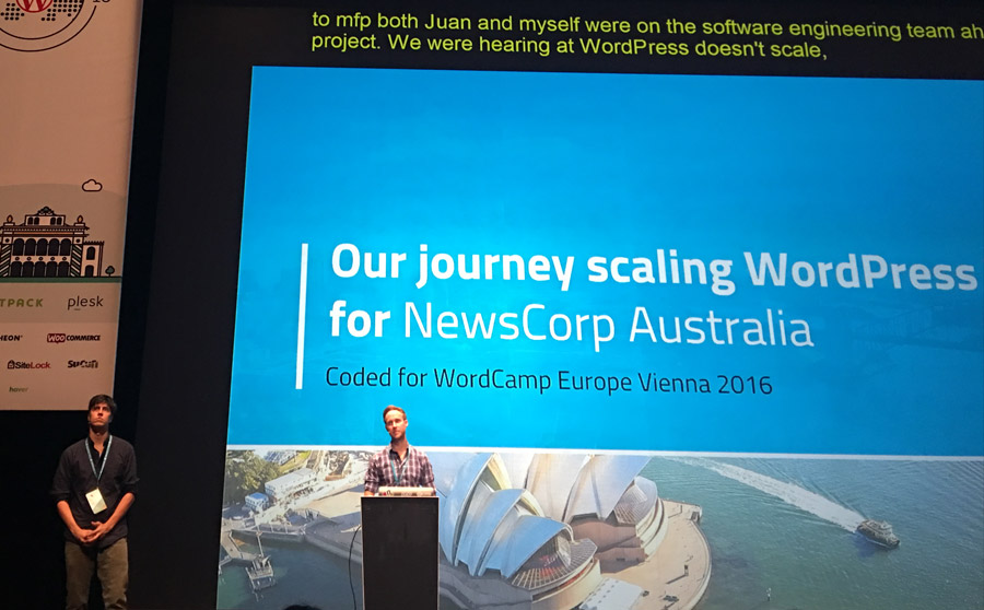 WordCamp Europe Vienna 2016