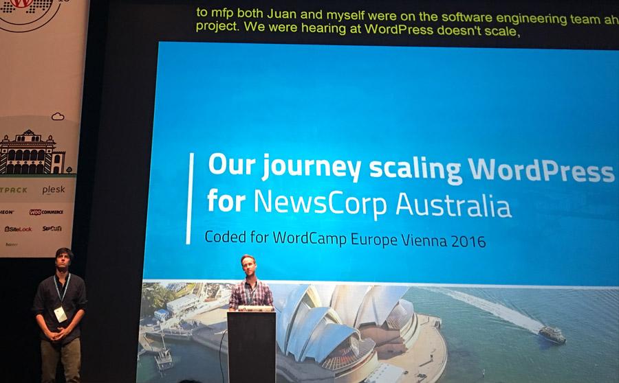WordCamp Europe Vienna 2016